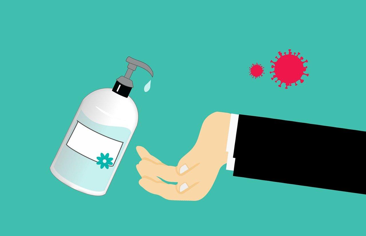 Attention à l'utilisation des gels hydro-alcooliques
